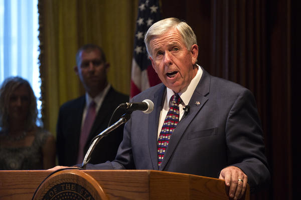 Gov. Mike Parson hopes to focus the 2019 legislative session on workfoce development and road improvement.