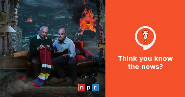 Everything is fine with Bill Kurtis and Peter Sagal