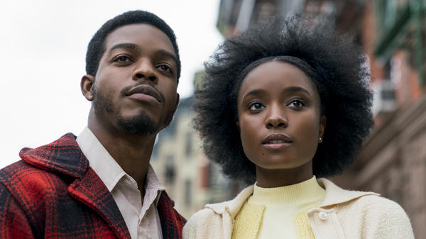"Composer Nicholas Britell says cellos were central to the score he wrote for <em>If Beale Street Could Talk</em> (starring Stephan James and KiKi Layne, above): ""The cellos really became for us this symbol of love, because the movie is about love and injustice."""