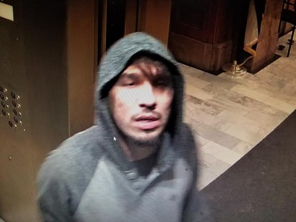 The suspect was captured by a security camera inside the Capitol. Denver Police are asking anyone who can ID the man to call crime stoppers at 720-913-7867.