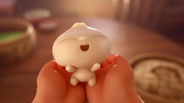 A dumpling springs to life in the Oscar-nominated Pixar Studios short <em>Bao. </em>