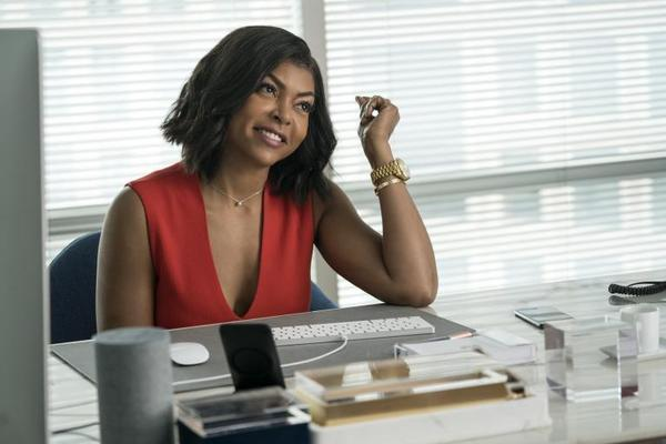 When she gains the power to read men's thoughts, Ali (Taraji P. Henson) gains an edge over her sexist colleagues in <em>What Men Want</em>.