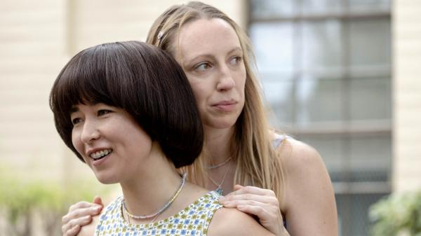 Maya Erskine and Anna Konkle star as middle-school besties Maya and Anna in the unconventional Hulu series <em>PEN15</em>.