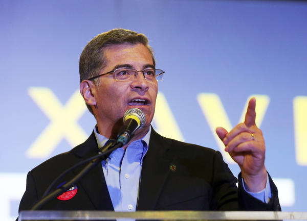California Attorney General Xavier Becerra was tapped to give the Spanish language response to the president's State of the Union address by top congressional Democratic leaders.