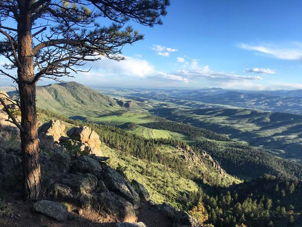 Horsetooth Mountain Open Space is a 2,711-acre state park outside of Fort Collins.
