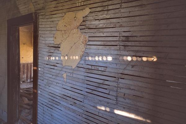 <p>Capturing light inside the Nelson House, Danielle Denham sees beauty in decay.</p>