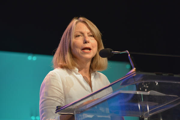 Jill Abramson, former managing editor and executive editor of <em>The New York Times,</em> speaks at 2014 Pennsylvania Conference For Women in Philadelphia.