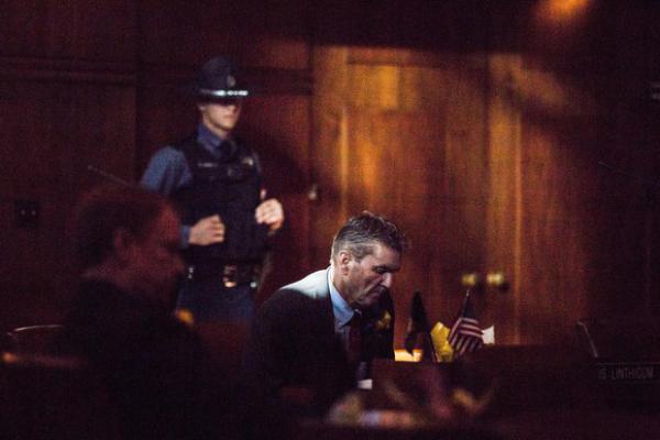 <p>Oregon state Sen. Dennis Linthicum, R-Klamath Falls, sits on the Senate floor at the Oregon Capitol in Salem, Ore., Monday, Jan. 14, 2019.</p>