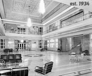 Shushan Airport Lobby, 1934