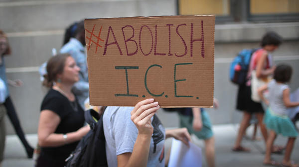 With some Democrats calling to abolish ICE, Congressional negotiators want to cap the number of the agency's detention beds.