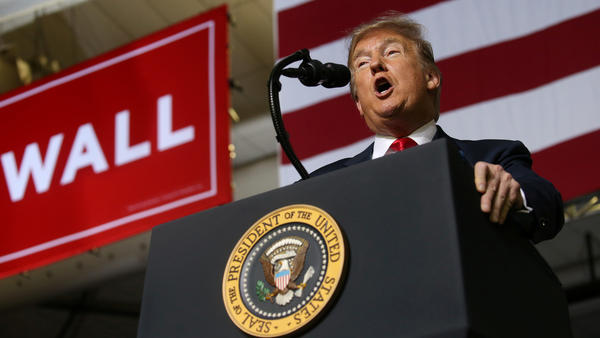 A supporter of President Trump's attacked a cameraman at the president's rally at the El Paso County Coliseum in El Paso, Texas, according to the BBC.