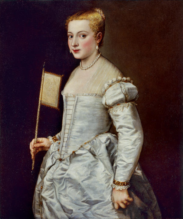 Titian painted<em> Portrait of a Lady in White </em>around 1561. She's captivated historians and art lovers for centuries — but nobody knows who she is.