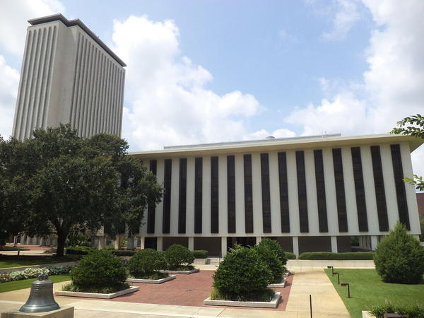 The Florida State Capitol complex in Tallahassee is pictured.