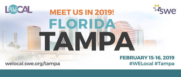 WE Local Tampa will be hosting a conference and career fair for women in engineering.