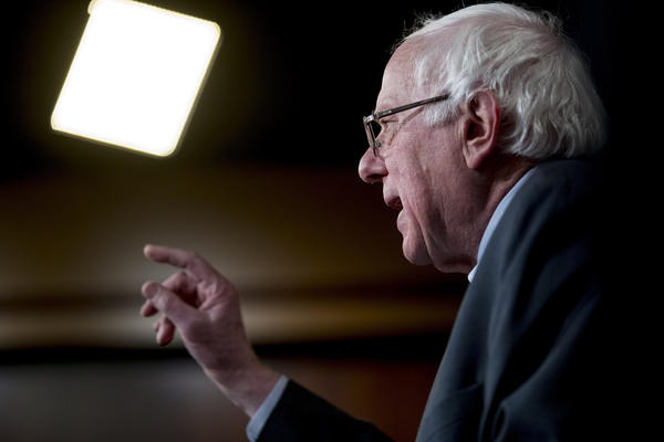 Sen. Bernie Sanders, pictured here on Jan. 30, has has confirmed to VPR that he is seeking the 2020 Democratic presidential nomination. This marks Sanders' second presidential run.