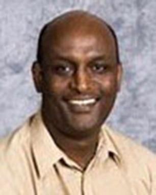 Solomon Weldegirma, senior instructor in the College of Arts and Sciences