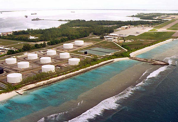 One of the U.K.-controlled islands, Diego Garcia, is home to a major U.S. military base.