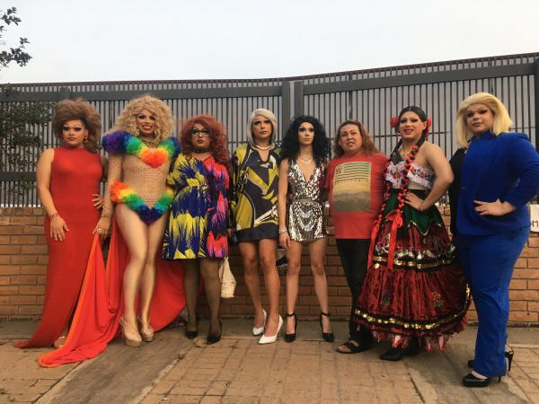 The drag queens raised $650 for LGBTQ asylum seekers.