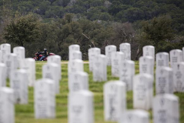 Army Spc. Hugh Gary Bryan was buried Wednesday at the Central Texas State Veterans Cemetery.