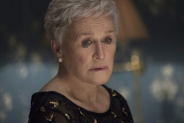 Glenn Close plays Joan, the titular wife in <em>The Wife. </em>The role has earned her an Academy Award nomination for best actress.