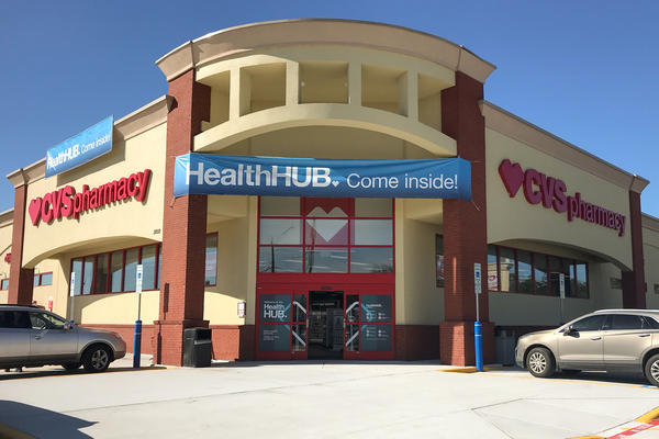 """CVS plans to transform some of its stores into """"health hubs,"""" retail locations revamped to include more health care services and products. One of the first is in Spring, Texas, a suburb of Houston."""