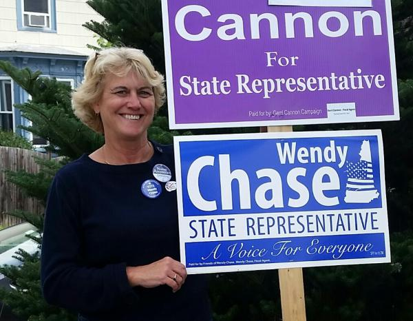 Wendy Chase was elected to the New Hampshire House in November. Her mission to pass paid parental leave was inspired by the decades of care her daughter required after being diagnosed with cancer at age 2.