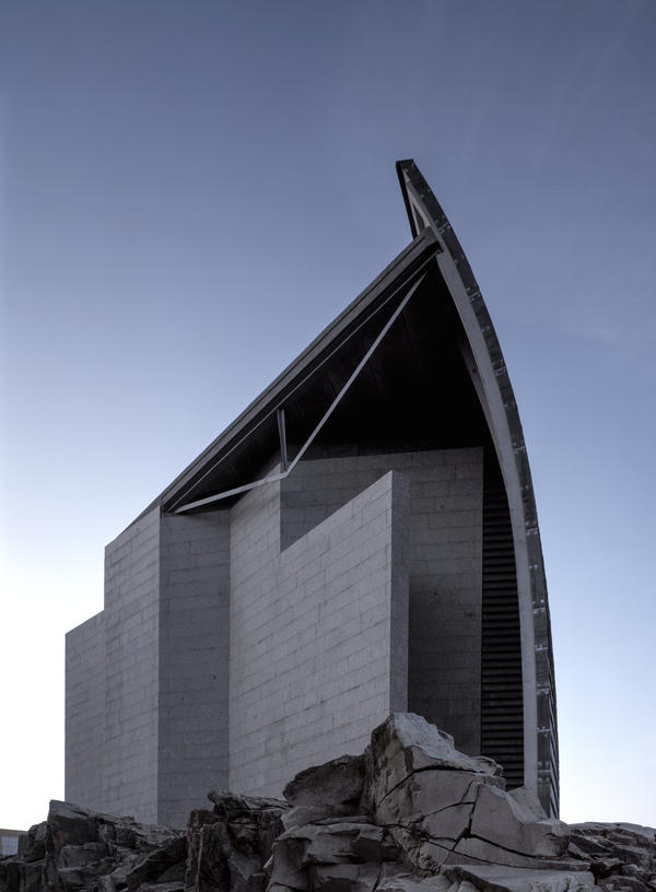 The Domus Museum of Mankind has stood in La Coruña, Spain, where the building was inaugurated in the mid-1990s.