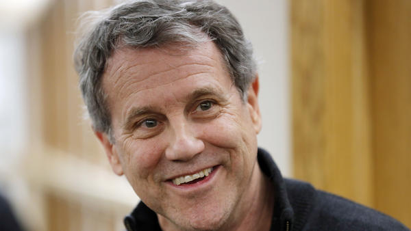 """In his announcement, Sen. Sherrod Brown said he """"will keep calling out Donald Trump and his phony populism."""""""