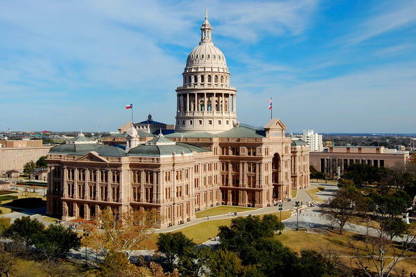 The Texas Capitol