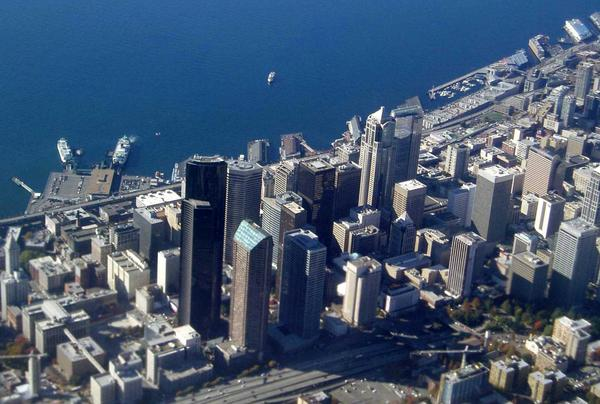 Skyscrapers in downtown Seattle and other Northwest city centers could sway more than anticipated in The Big One, according to research presented this week.