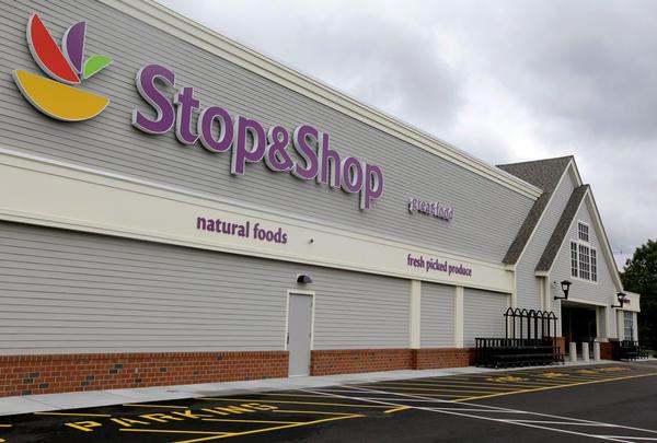 A Stop & Shop supermarket in Pembroke, Mass. (Stephan Savoia/AP)