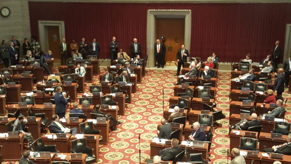 Missouri House members voted in early Feburary to exempt certain emails of theirs from the state's open records law. A similar bill is pending in the Senate.