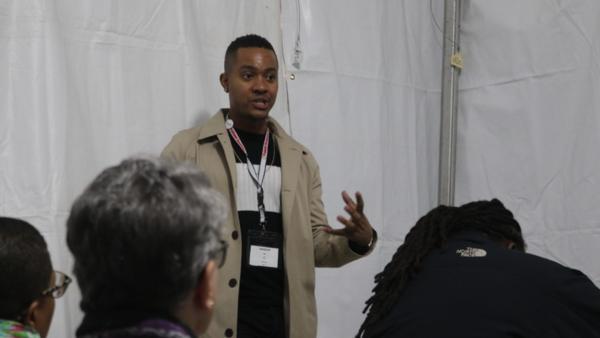 Shaquise Elie, high school social studies teacher in Brooklyn, New York, shares his challenges as a black make educator.