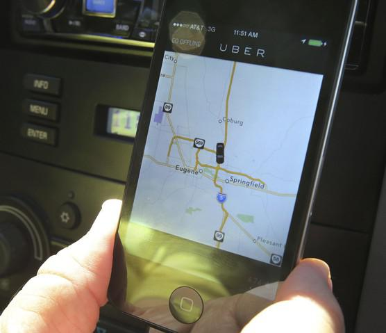 <p>Ubersuspended service in Eugene in 2015 when the city ruled it was operating illegally.</p>