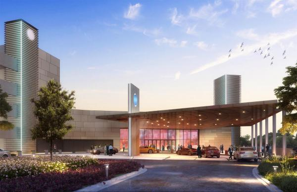 Rendering of the Tribal Winds Casino planned for East Windsor, Connecticut.