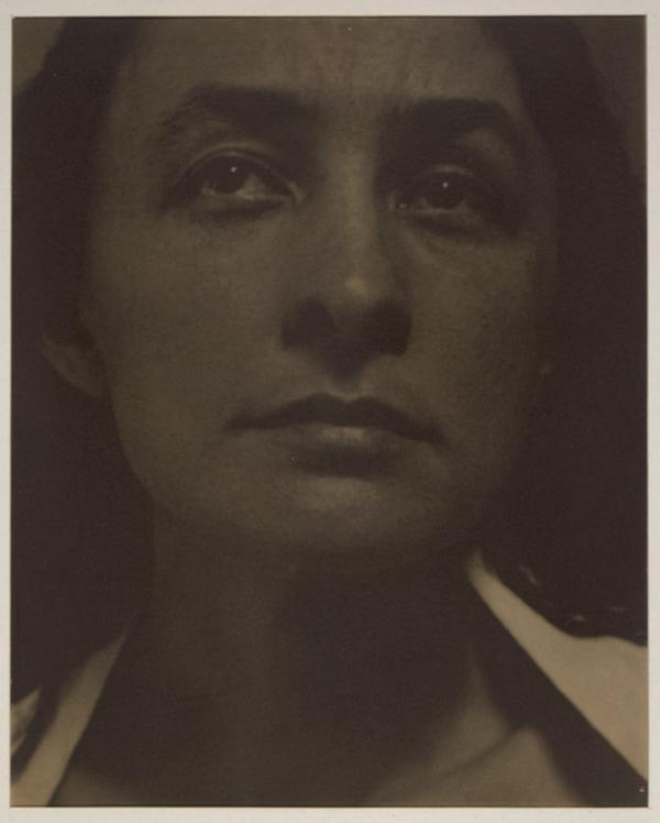 The Library of Congress has announced the acquisition of a trove of letters from Georgia O'Keeffe — photographed here by her husband, Alfred Stieglitz.