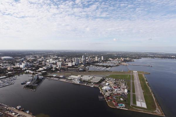 A view of downtown St. Petersburg