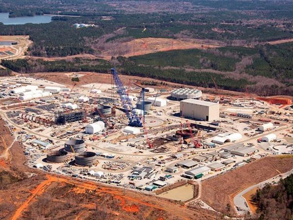 V.C. Summer nuclear plant in Fairfield County.