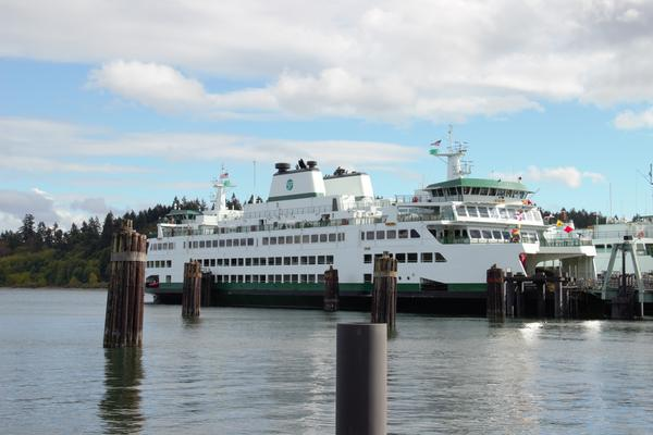 Two new proposed hybrid-electric state ferries will be the same size as the newest ferry in the WSF fleet, the 144-car Suquamish.