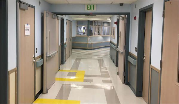 This file photo shows a decommissioned ward at Western State Hospital.
