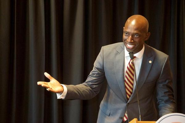 From Miramar to the White House? Newly re-elected Miramar Mayor Wayne Messam has launched an exploratory committee to examine a presidential campaign.