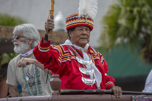 Chasco Fiesta held a street parade Saturday runs through April 6 in New Port Richey.