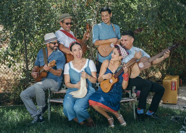 """The East L.A. band Las Cafeteras is known for a version of """"La Bamba"""" that mixes traditional Mexican <em>son jarocho</em> with hip-hop."""