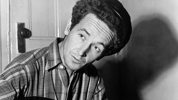 Woody Guthrie circa 1940.