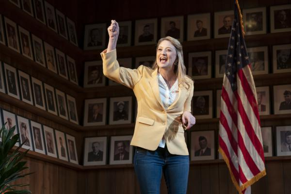 Heidi Schreck's <em>What the Constitution Means to Me </em>opens on Broadway on Sunday.