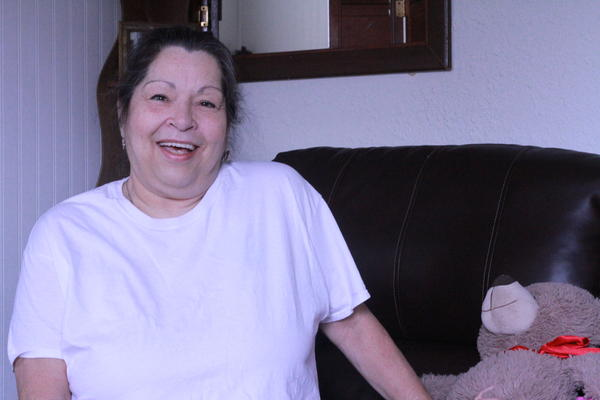 Donna Jamison is living in housing provided by the Southern Illinois Coalition for the Homeless.