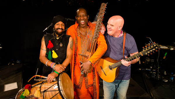 Hear Afro Celt Sound System on this edition of <em>The Thistle & Shamrock</em>.