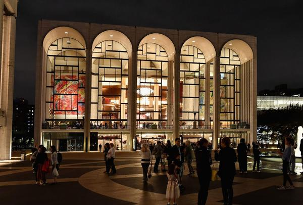 The Metropolitan Opera at Lincoln Center for the Performing Arts in New York City. (Angela Weiss/AFP/Getty Images)