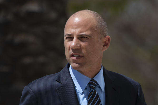 Attorney Michael Avenatti, shown here arriving in federal court this month, is accused of stealing millions of dollars from clients, among other charges.