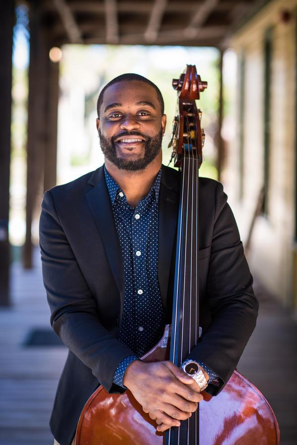 Bassist and FGCU Director of Jazz Studies Brandon Robertson